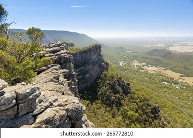 View from the Pinnacle of Halls Gap in the Grampians National Park, Victoria, Australia