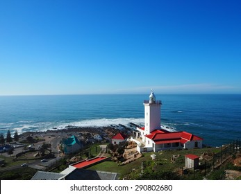 The view of  Pinnacle Point and St Blaize lighthouse in Mossel Bay, South Africa.