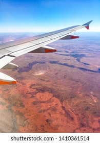 View from plane Yulara, NT