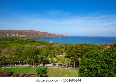View to Playa Hermosa which is a well known Tourist Beach in Guanacaste in Costa Rica close to Liberia