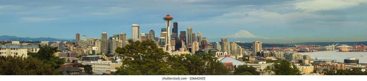 The view point of the city of Seattle