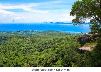 View point at Dragon Crest mountain / Krabi /Thailand