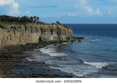 View of Point Fermin on the Palos Verdes Peninsula, Los Angeles, California