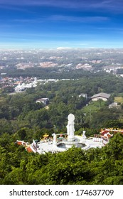 View point in Hat Yai City, Songkhla, Thailand