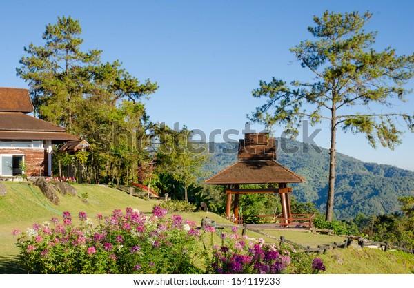 View point of Huai Nam Dang National park, Thailand