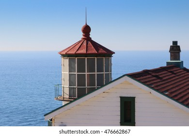A view of the Point Reyes Lighthouse