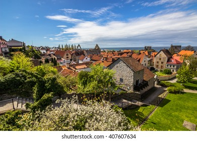 View point of Visby, Gotland