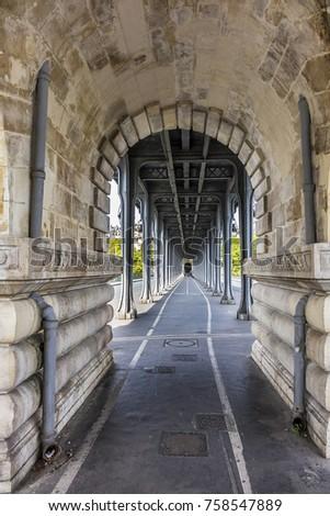 View Pont De Bir Hakeim Formerly Pont Stock Photo Edit Now
