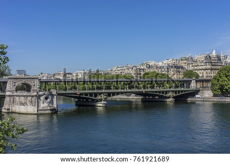 View Pont De Bir Hakeim Pont De Stock Photo Edit Now