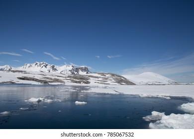 A view of Port Charcot, Antarctic Peninsula