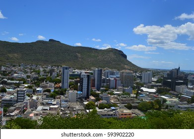View of Port Louis - Capital of Mauritius