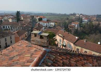 A view of Portacomaro d'Asti (Italy), the country village of the distant Italian relatives of Pope Francis.