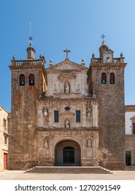 View of the portal of a church in Viseu