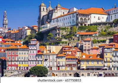 View of Porto city, Portugal
