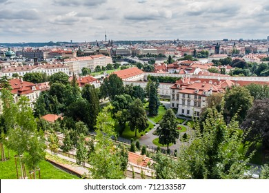 A view of Prague from Prague Castle