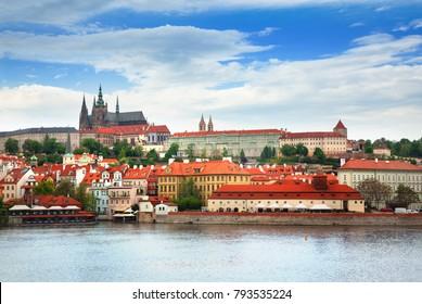 View of Prague city