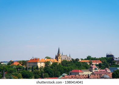 View of Prague/Czech Republic from Vysehrad park