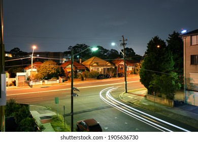View of Princes hwy in Kogarah, a southern suburb in Sydney.