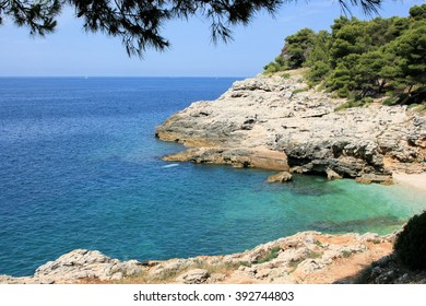 view in Punta, Pula, Croatia
