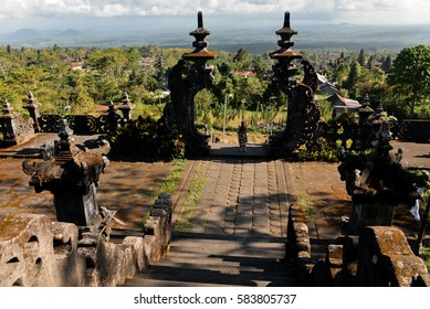 A view from Pura Agung Besakih temple, Bali, Indonesia