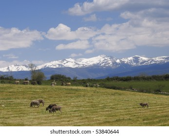 View of   Pyrenees, Catalonia, Spain