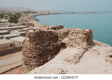 View from the rampart of the Portugese fort of Hormuz Island