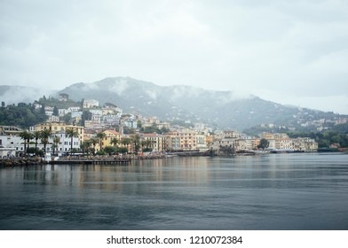 A view of Rapallo, Italy