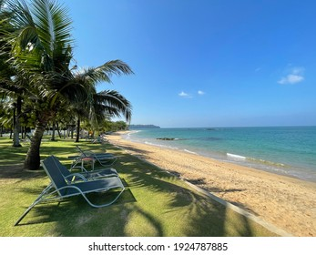View of Relaxing at the beach,Khaolak,Thailand