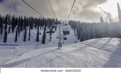 The view from Revelstoke Mountain Resort in B.C., Canada