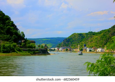 view of the rhine river