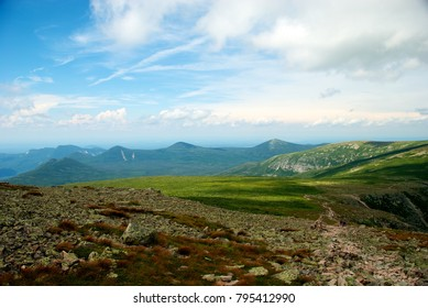 View from Ridge Leading to Summit of Mount Katahdin, Baxter State Park, Maine