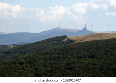 View of the ridge of Stara Planina, Bulgaria