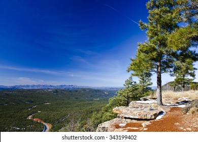 The view from the rim over the Tonto National forest