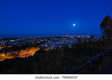"""View of Rome from panoramic place called """"Zodiaco"""""""
