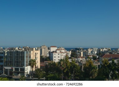 View from the rooftop in Limassol, Cyprus