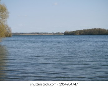 View of Rutland Water on a late Spring afternoon from Barnsdale