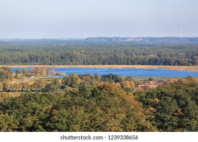 View of s lake and vast forest