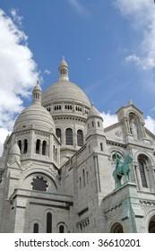 View of Sacred Heart Basilica, Paris