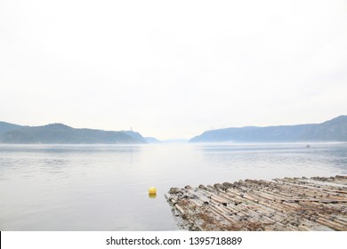 A view of the Saguenay River from L'Anse-de-Roche, Quebec