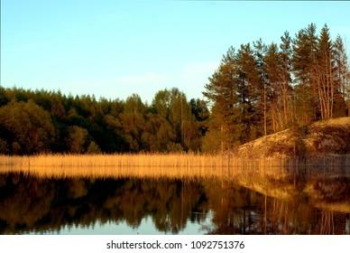 View from Saimaa Lake District