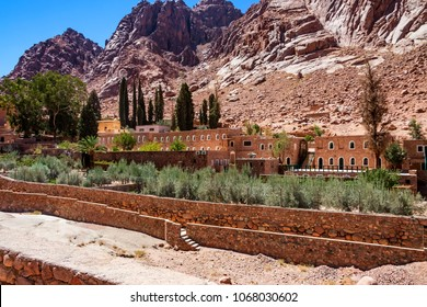 View of Saint Catherine's Monastery, Sinai, Egypt