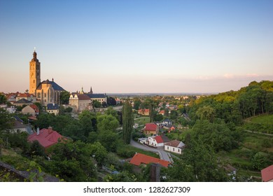 View to Saint James cathedral in Kutna Hora, Bohemia, Czech republic
