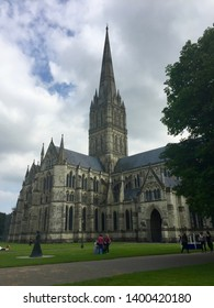 A view of Salisbury Cathedral