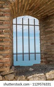 View from Salobrena castle, Granada, Spain
