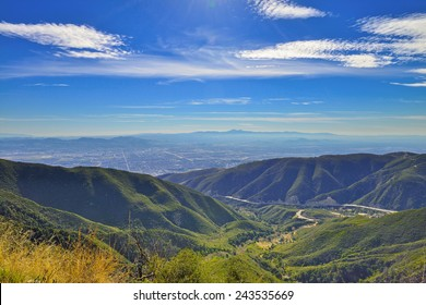 View from San Bernardino Mountains