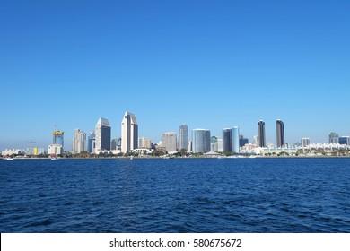 View of San Diego Downtown from Coronado side Coronado, California, United States