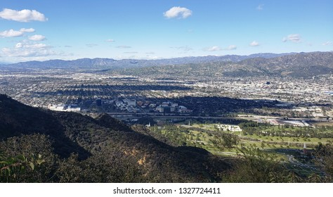View of the San Fernando Valley, Los Angeles