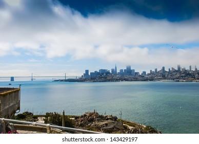 View of San Francisco from Alcatraz taken in 2007
