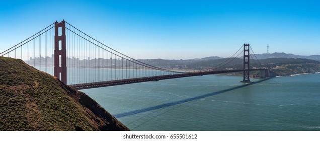 View of San Francisco Golden Gate