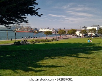 View of the San Francisco Maritime National Historical Park